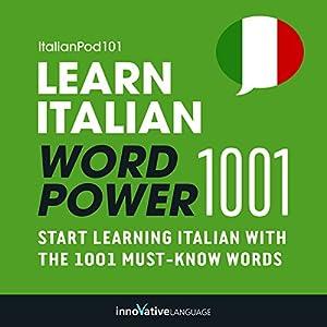 Learn Italian - Word Power 1001 Audiobook