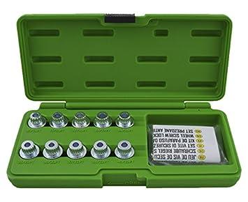 JBM 52802 Set extractor de tornillos de seguridad: Amazon.es: Coche y moto