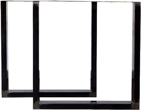 LOFTSTORY Set 2 Patas de Mesa Acero Hierro, Ideal para Muebles de ...