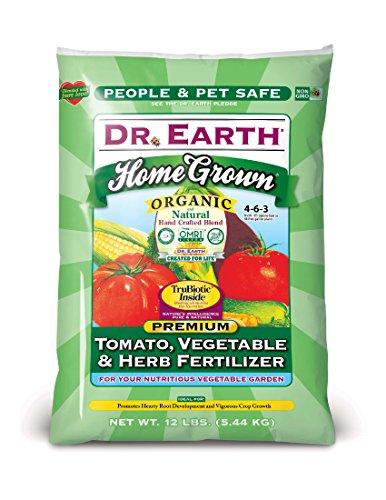 Dr. Earth Home Grown Tomato, Vegetavle & Herb Fertilizer 12 (Probiotic Fertilizer)