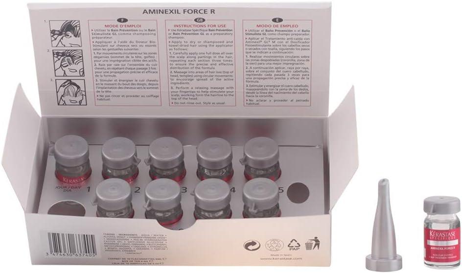 Kerastase Specifique Aminexil Force R Traitement Anti-Chute 10 X 6 ...