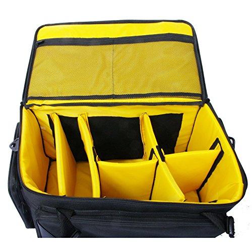 ZUMA Easy Professional Camera Case, Black/Yellow (Z-EC8188)