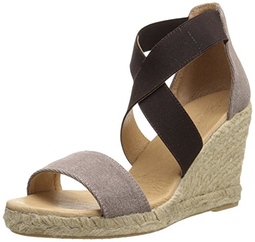 Cordani Women's Enright Espadrille Wedge Sandal, Nutmeg, 38 EU/8 M US