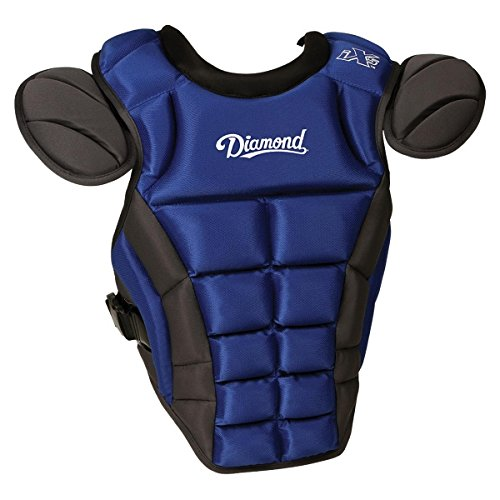 Diamond Sports iX5 Deluxe Chest Protector, Large/16.5-Inch,