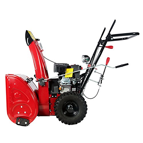 Snow Thrower Transmissions : Amico power quot cc manual start gas snow blower gear