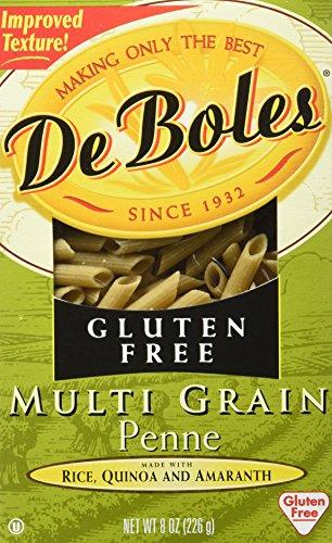 DeBoles Gluten-Free Multigrain Pasta, Penne, 8 Ounce (Pack of 12) (Free Pasta Deboles Gluten)