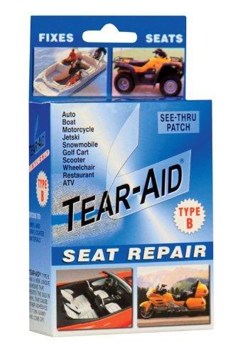 (Tear-Aid Repair Type B Vinyl Seat Repair Kit, Clear by Tear-Aid Repair)