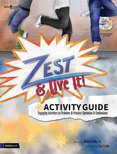 Zest: Live It! Activity Guide by MS Zentic Tamara (2015-08-15)