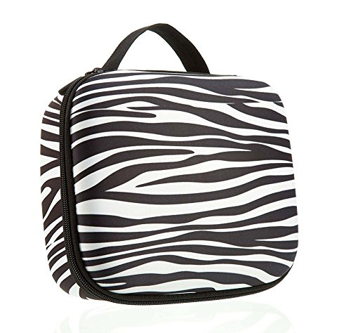 ZIPIT Colorz Jumbo Large Storage Box, Zebra