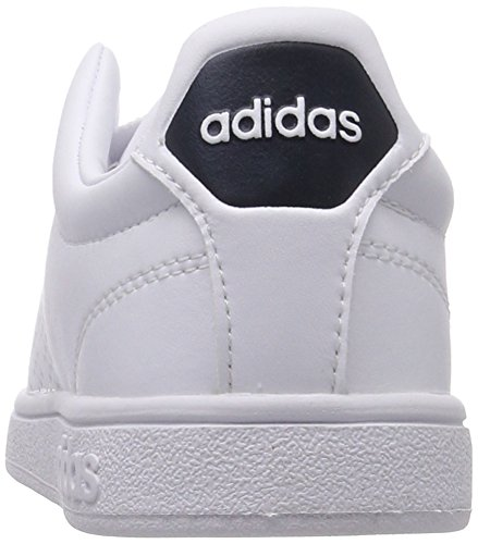 adidas Women's Advantage Adapt Trainers, Bianco (Footwear White/Footwear White/Bold Green) White (Footwear White/Footwear White/Collegiate Navy 0)