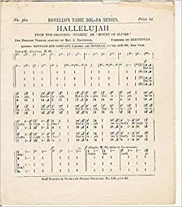 Hallelujah Chorus With Tonic Solfa Pdf