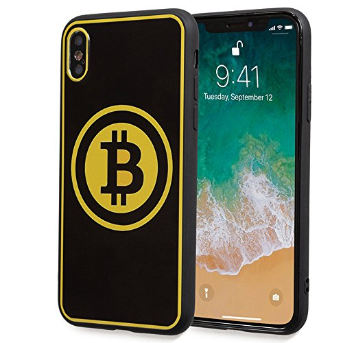 Bitcoin Case For iPhone X Soft Slim Fit For Bitcoin - Crypto Currency Lovers