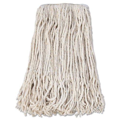 -- Banded Cotton Mop Head, #24, White, 12/Carton