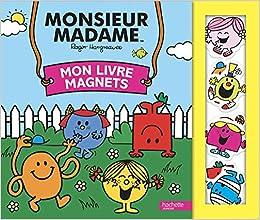 Monsieur Madame Mon Livre Magnets Amazon Fr Roger