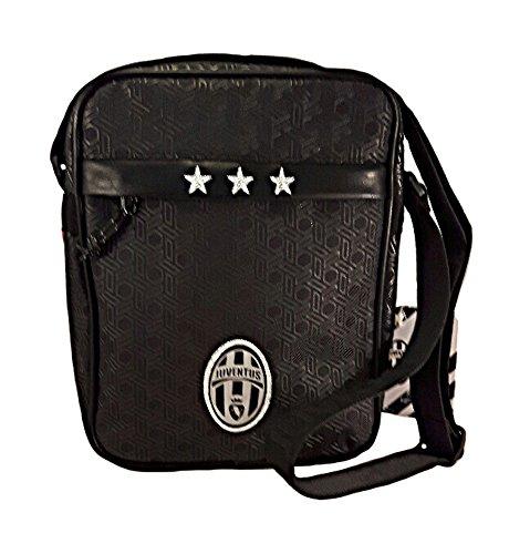 al de Juventus hombre Bolso negro Lona para hombro negro zwWA6WqpO