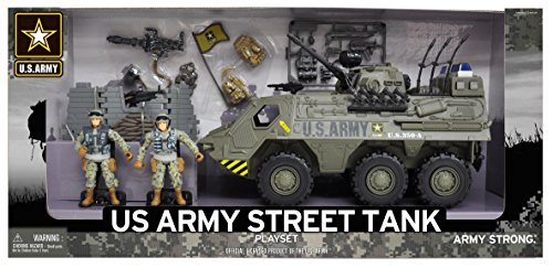 - United States Army Tank Playset with Light and Sound