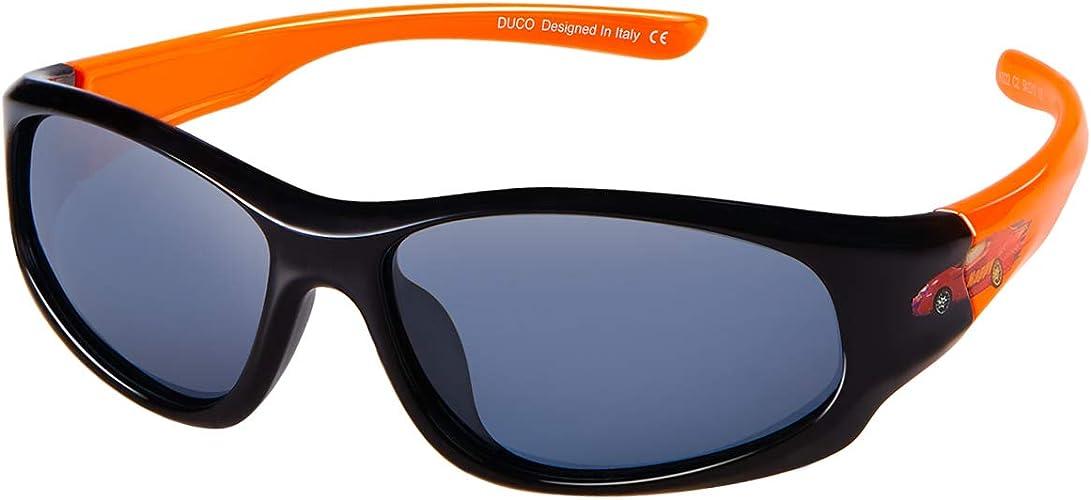 Kids Rubber Flexible Polarized Sunglasses With Strap 100/% UVA /& UVB