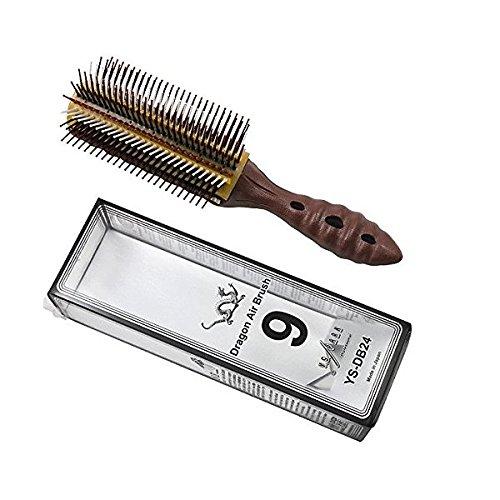 (YS Park Hair Brush - DB24 - Dragon Air Brush - Choco Mix)