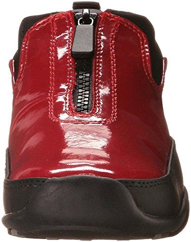 Chaussure À Glissière Frontale Howdoo-p Cougar Pour Femme En Cerisier