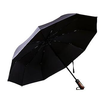 LB trading Paraguas a prueba de viento Los hombres del paraguas a prueba de viento negro