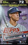 #5: 2017 Topps Baseball Factory Sealed UPDATE Series Hanger Box with 72 Cards per box and Possible Autos, Game Used Relic cards and more