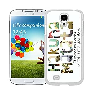 Coolest Samsung Galaxy S4 Case Soft Rubber Silicone White Phone Cover