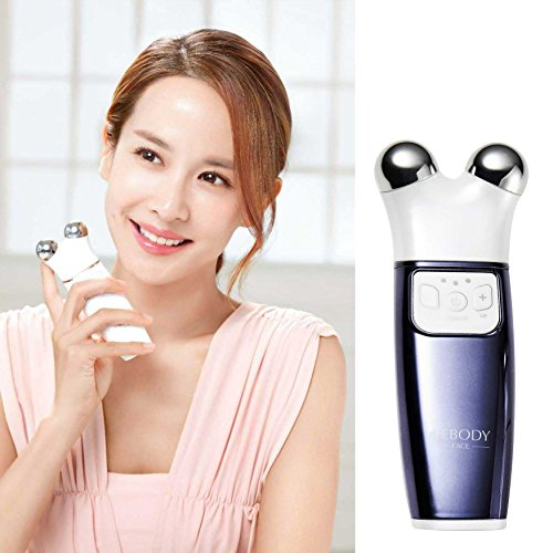 LEBODY FACE Micro-current Generator Facial Toning Device Home Skin Care Massager (BLUE) by LEBODY