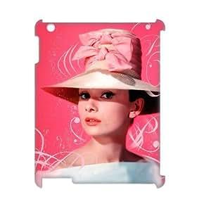C-EUR Audrey Hepburn Pattern 3D Case for iPad 2,3,4 by lolosakes