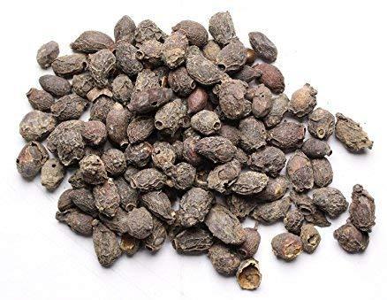 Premium Quality Dried Jamun Seeds - Neredu Ginjalu - Black Plum - Syzygium Cumini - Jamun Beej - 300 Grams - Loose Packed by krishna krpa