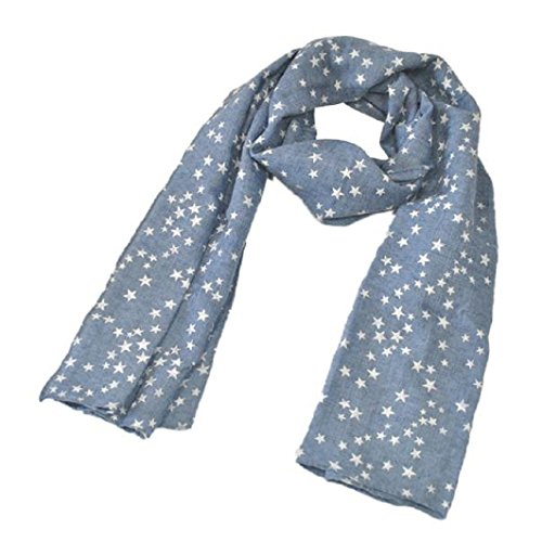 [Muxika Fashion Unisex Kid Baby Cute Star Four Seasons Children Soft Scarf Shawl (blue)] (Cute Halloween Gifts For Coworkers)