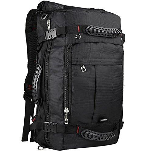 AMOS Bolso de hombro Bolso de viaje casual para hombre Bagaje de gran capacidad Mochila Paquete de viaje multifuncional Deportes al aire libre
