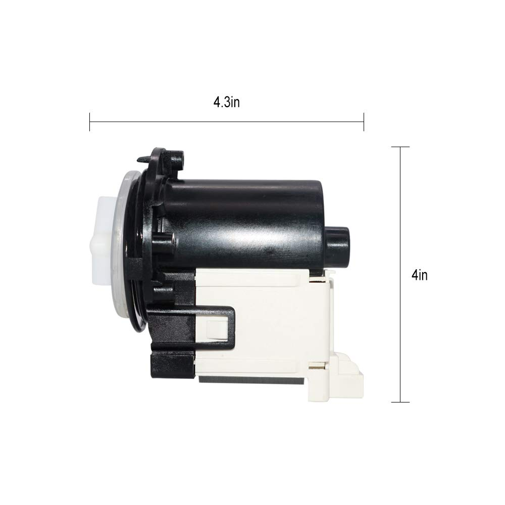 4681EA2001T Washer Drain Pump and Motor Assembly Replacement By Primeswift,Compatible with LG Kenmore Washer 2003273 4681EA2001T