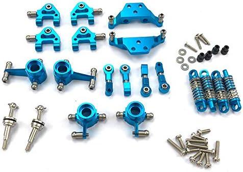 Azul YDong Piezas de Actualizaci/óN de Conjunto Completo de Metal Amortiguador para Wltoys 1//28 K969 P929 P939 K979 K989 K999 RC Piezas de Autom/óViles