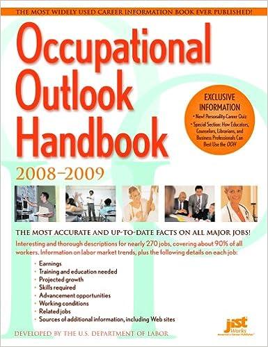 Occupational Outlook Handbook (Occupational Outlook Handbook (Cloth-Claitor's))
