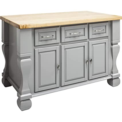 Jeffrey Alexander Tuscan Kitchen Island Isl01 Gry Amazon Com