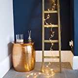 Indoor Fairy Lights with 40 Warm White LEDs on Clear Cable by Lights4fun Bild 3