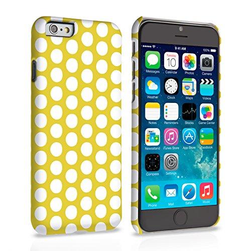 Caseflex iPhone 6 / 6S Hülle Grün Tupfen Hart Schutzhülle