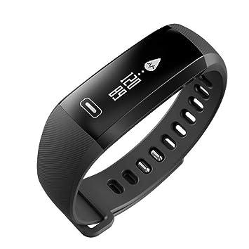 STEAM PANDA Relojes Inteligentes para Hombres, Mujeres con Monitor de Ritmo cardíaco y presión Arterial Pulsera Inteligente podómetro Bluetooth 4.0 60 MAh 0 ...