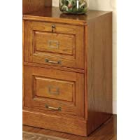 Palmetto Oak File Cabinet w/ 2 Drawers