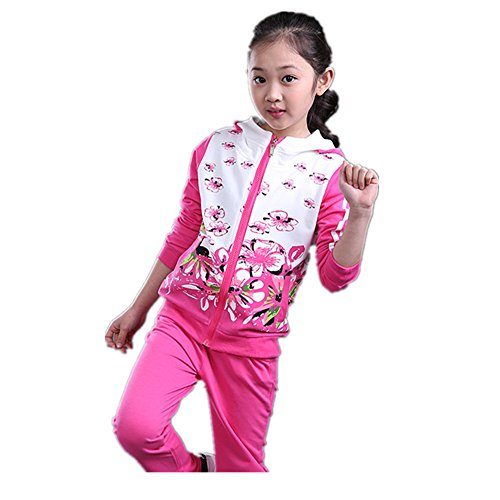 ftsucq-girls-floral-printed-sweatsuit-sports-two-pieces-setrosered-160