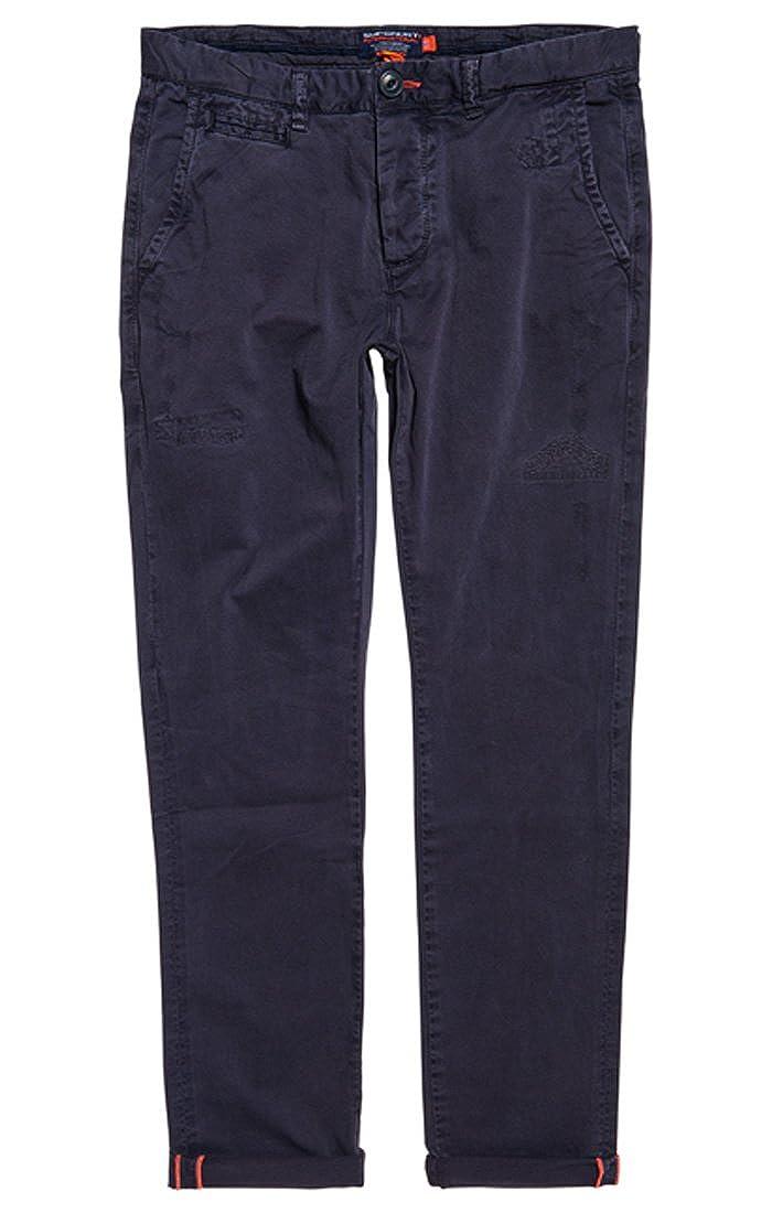Superdry Int'lrip&repairchinolite, Pantalones de Deporte para Hombre M70000GQ