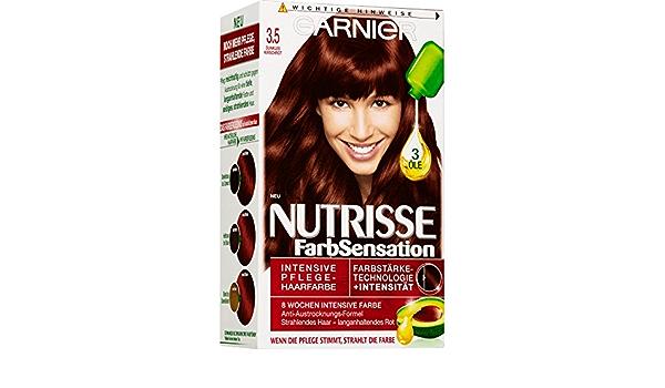 Garnier – Coloración – Nutrisse Ultra color – 3.5 rojo cereza ...