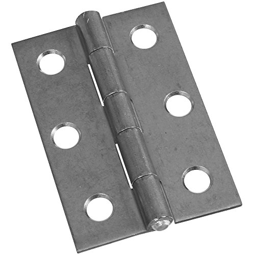 National Hardware N227-256 MPB518 Non-Removable Pin Hinges in Zinc plated, 2 (Zinc Pin Hinge)