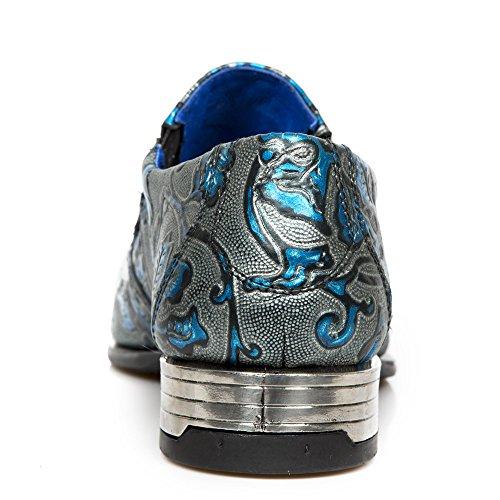 New Rock - Stivali da motociclista uomo Blue