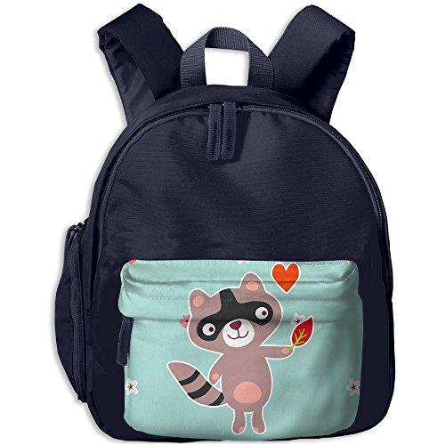 Price comparison product image Happy Raccoon Boy's Creative School Backpack Bookbag