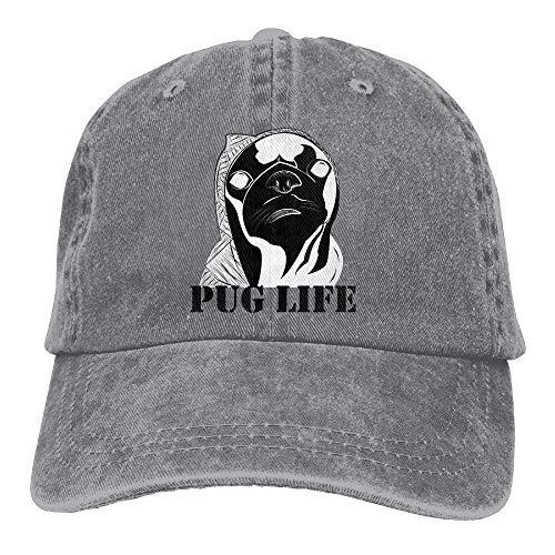 Sport for Cowboy Hats Cap Life Men Hat DEFFWB Women Skull Cowgirl Denim Pug ZUa8OqT
