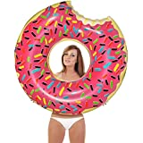 Giant Bean Bag Chairs IG-DF-RP Inflatables Giant Pool Floats Pump Included (Donut), Strawberry