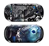 Sony PS Vita-1000 BLACK ROCK SHOOTER Protective Vinyl Skin Decal Set