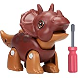 Smarkids Take Apart Dinosaur Toys for Kids, Building Toy Set with Screwdriver Construction Engineering Play Kit STEM Learning