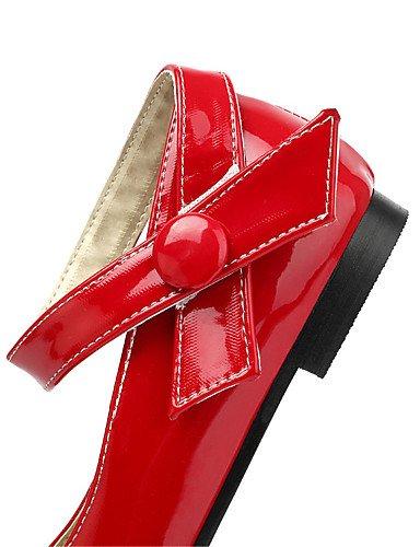 us9 Eu42 5 Mujer Patentado Rosa Rojo Cn43 10 5 Pink tac¨®n Pink Vestido Janecasual 5 Eu41 Mary cuero Unisex 5 Zq confort Uk8 8 amarillo us10 Cn42 Uk7 Blanco Plano BTPwdqTg